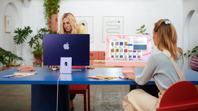 2021 model iMac M1 işlemcili