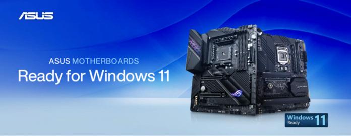 ASUS Windows 11 desteki kartlar