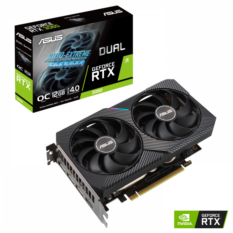 Asus DUAL GeForce RTX 3060 12 GB