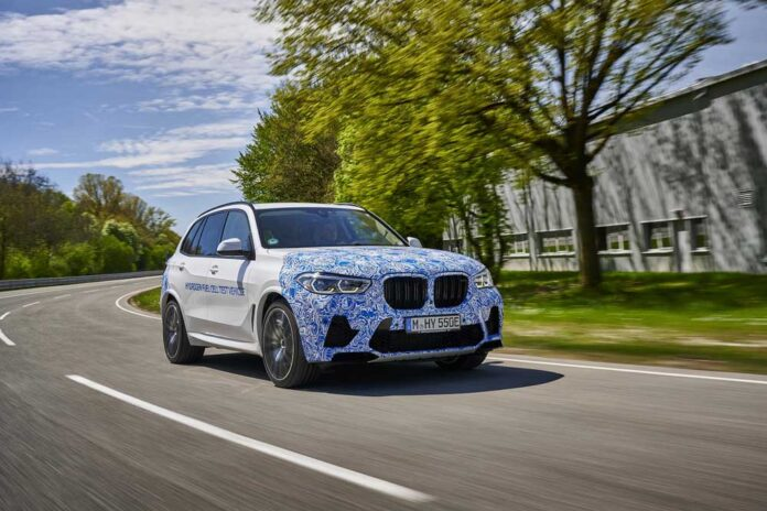 BMW i Hyrogen Next