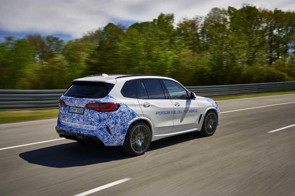 BMW i Hydrogen Next yol testi
