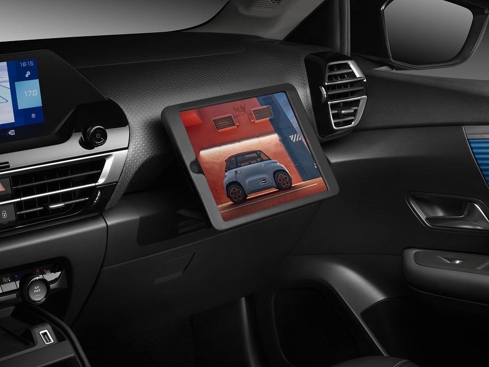 Yeni Citroen C4 Tablet Desteği