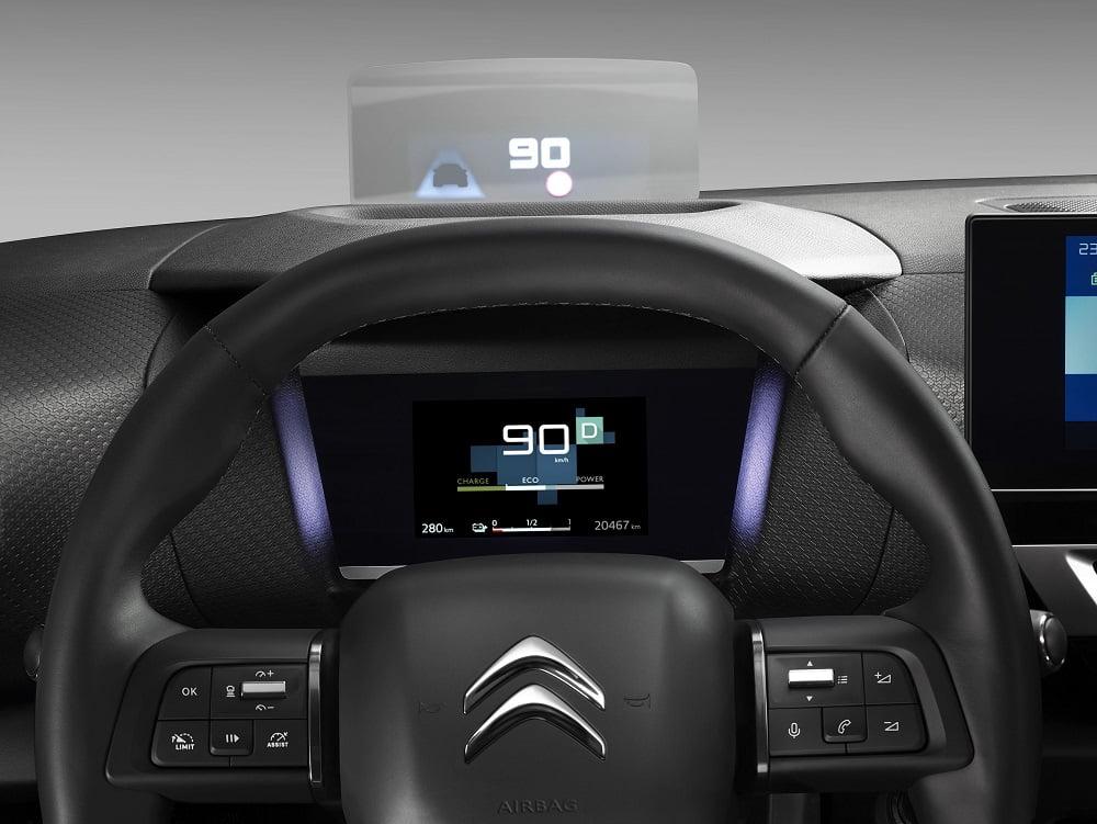 Yeni Citroen C4 Head Up Display