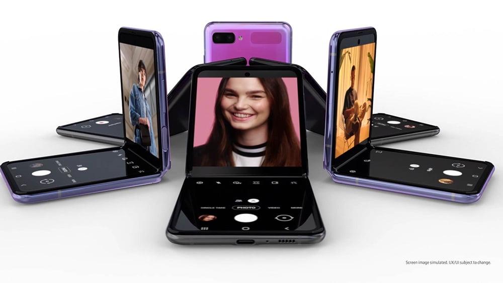 Galaxy Z Flip 3 Kamera - Flex Modu