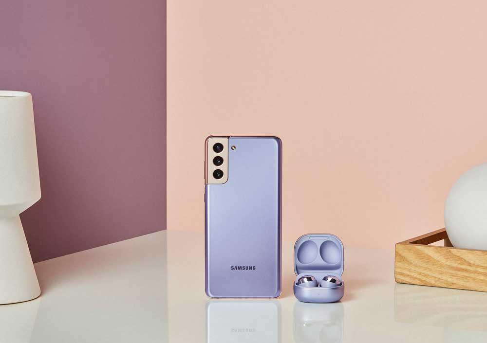 Galaxy S21+ ve Galaxy Buds Pro