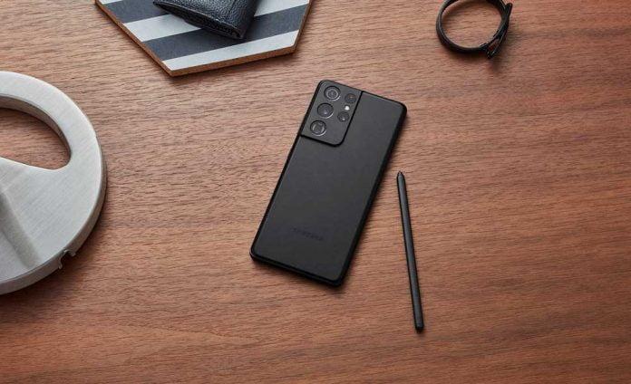 Galaxy S21 Ultra ve S-Pen