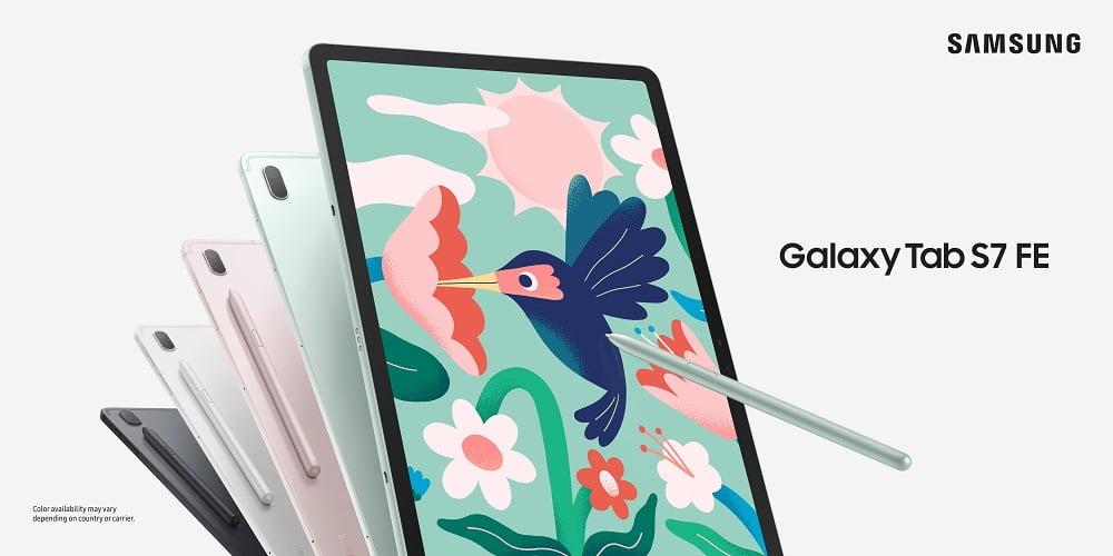 Samsung Galaxy Tab S7 FE tablet
