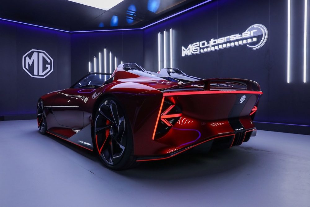 MG Cyberster Elektrikli Roadster