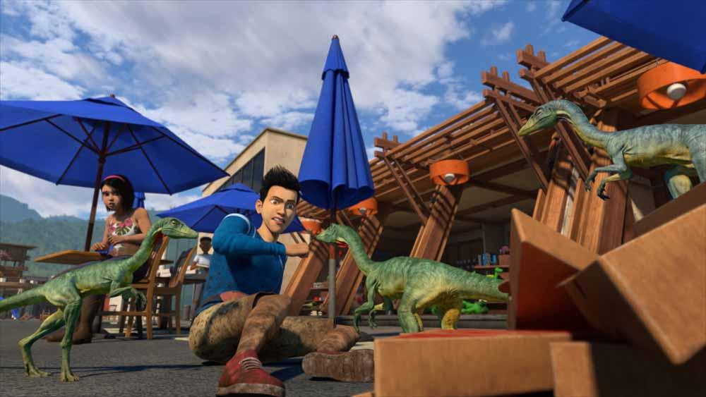 Netflix Türkiye Jurassic World Kretase Kampı dizisi