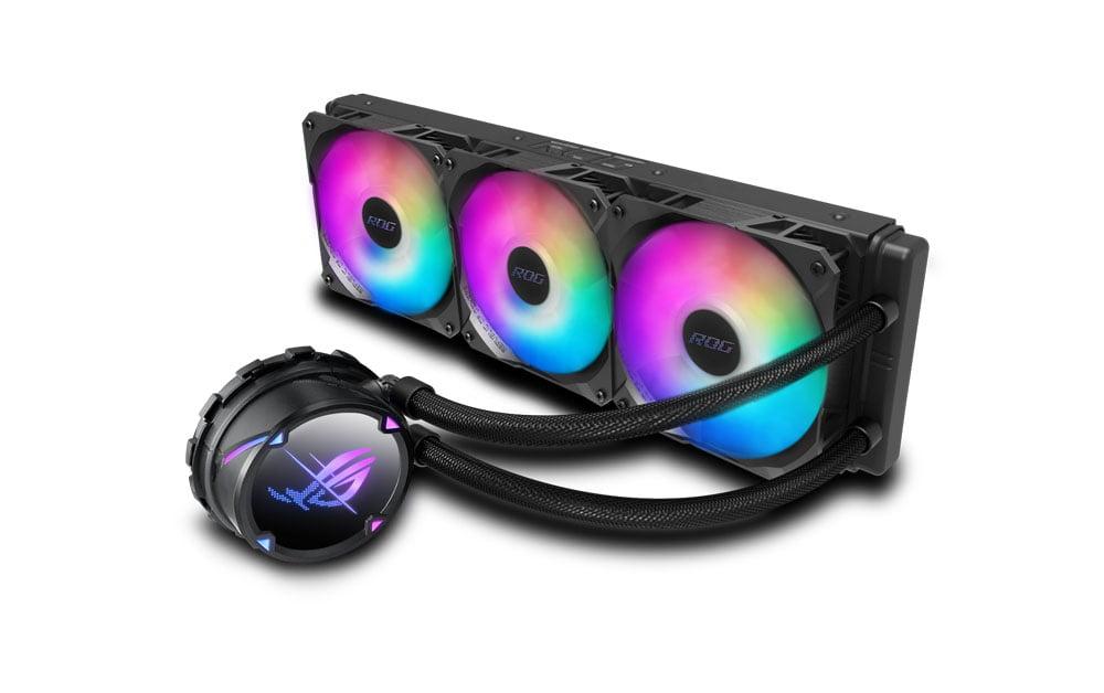 Asus ROG Strix LC II sıvı soğutma 360mm