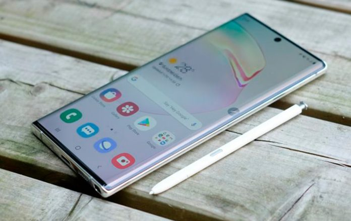 Galaxy Note 10 Android 11