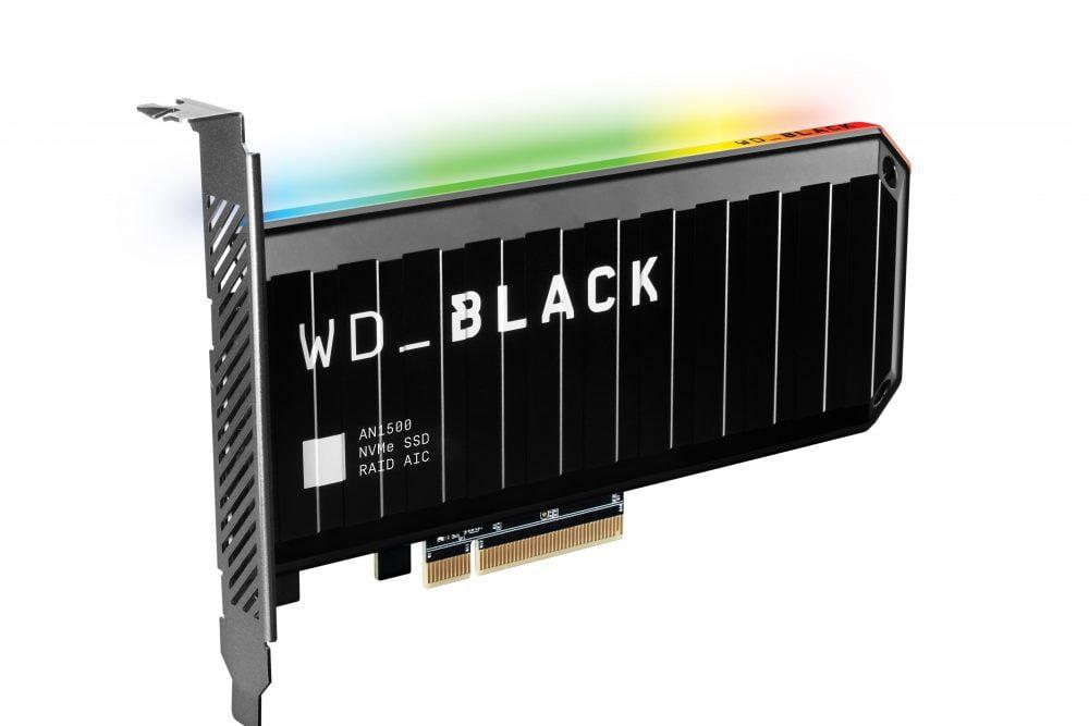 WD_BLACK AN1500 NVMe SSD Eklenti Kartı