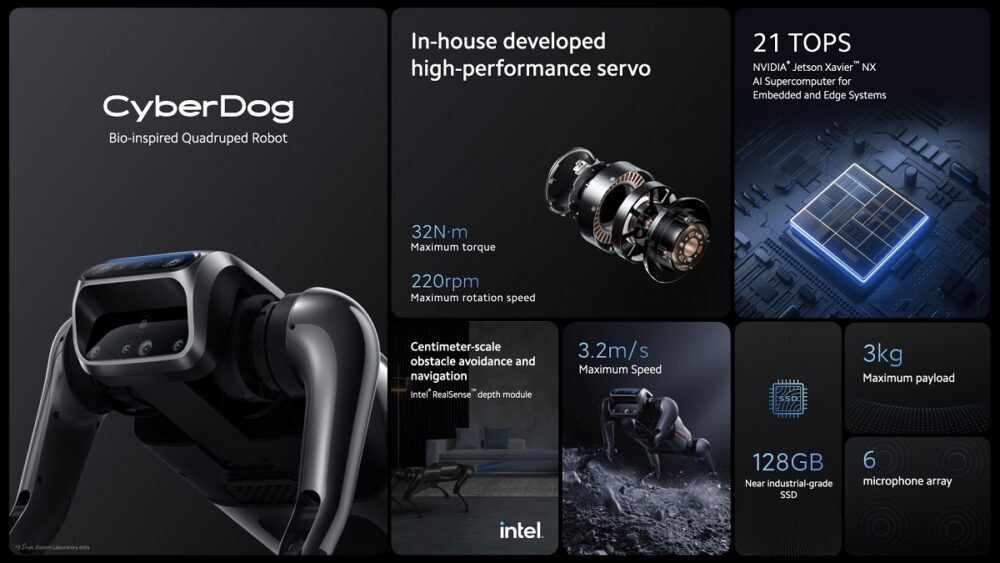 Xiaomi CyberDog Özellikleri