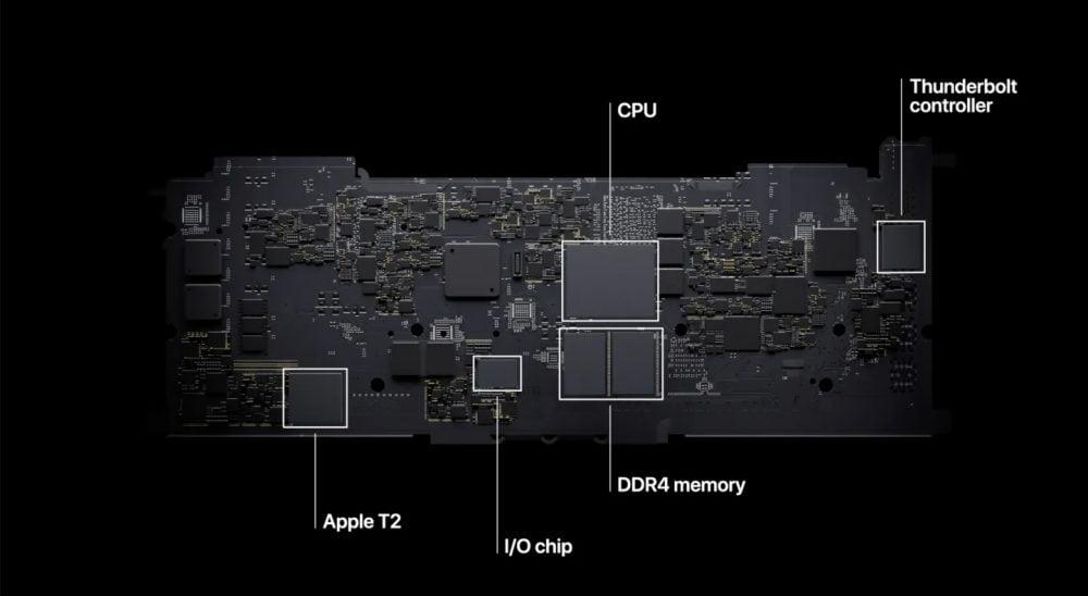 Apple M1 Board yapısı