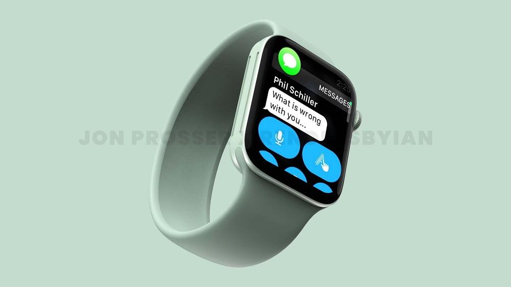 Apple Watch 7 yeşil renk seçeneği