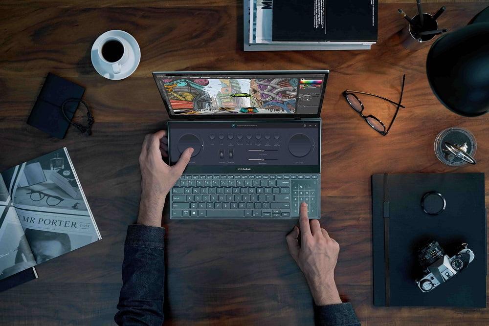 Asus OLED ekranlı Zenbook Pro Duo