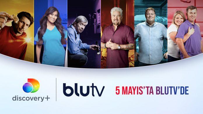 Blu TV - Discovery+ İçerikleri Yayında