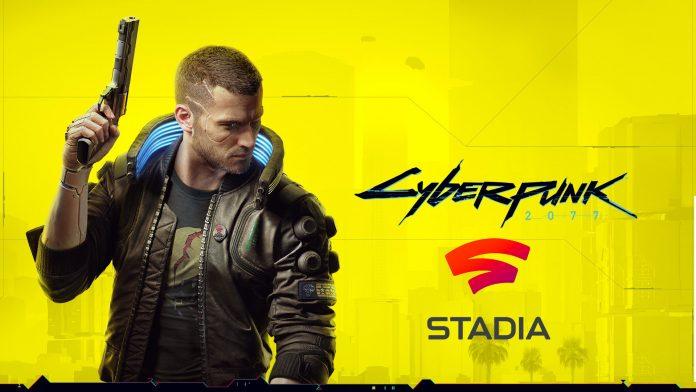 Cyberpunk 2077 Google Stadia Oynanış Videosu