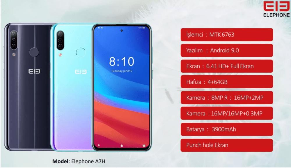 Elephone Türkiye fiyatı