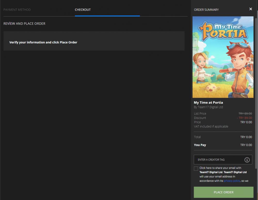 Epic Games 26 Aralık ücretsiz oyunu belli oldu