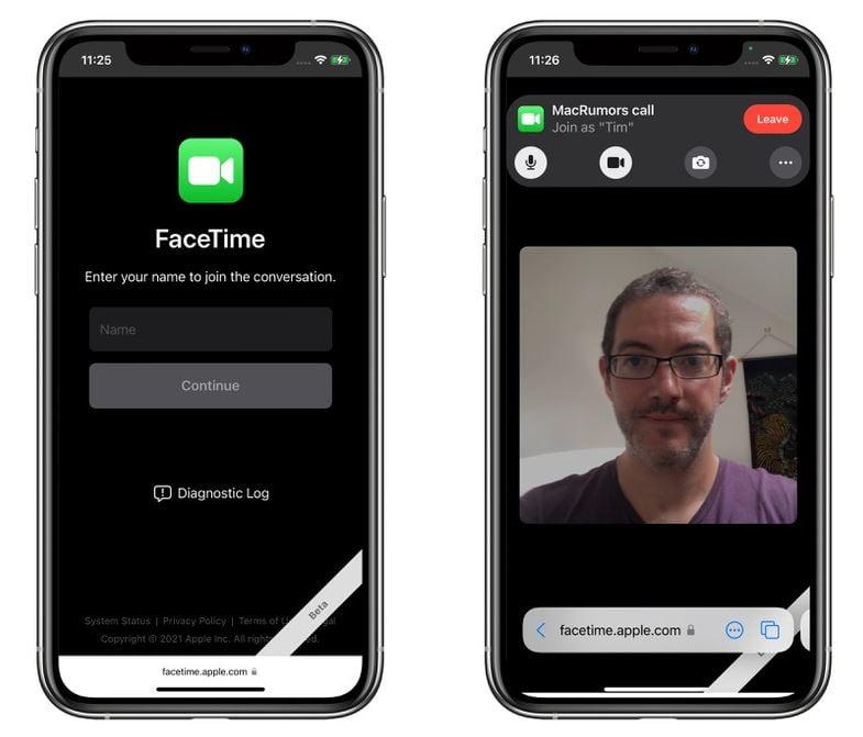 FaceTime Android kullanıcı davet etme 2