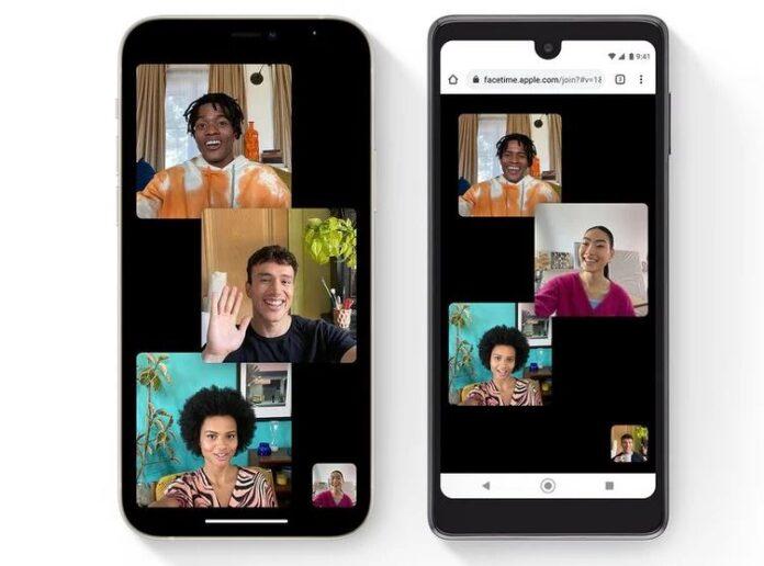 FaceTime Android kullanıcı dahil etme