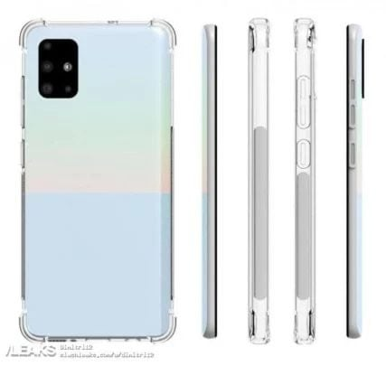 Galaxy A51 Kılıf Görseli