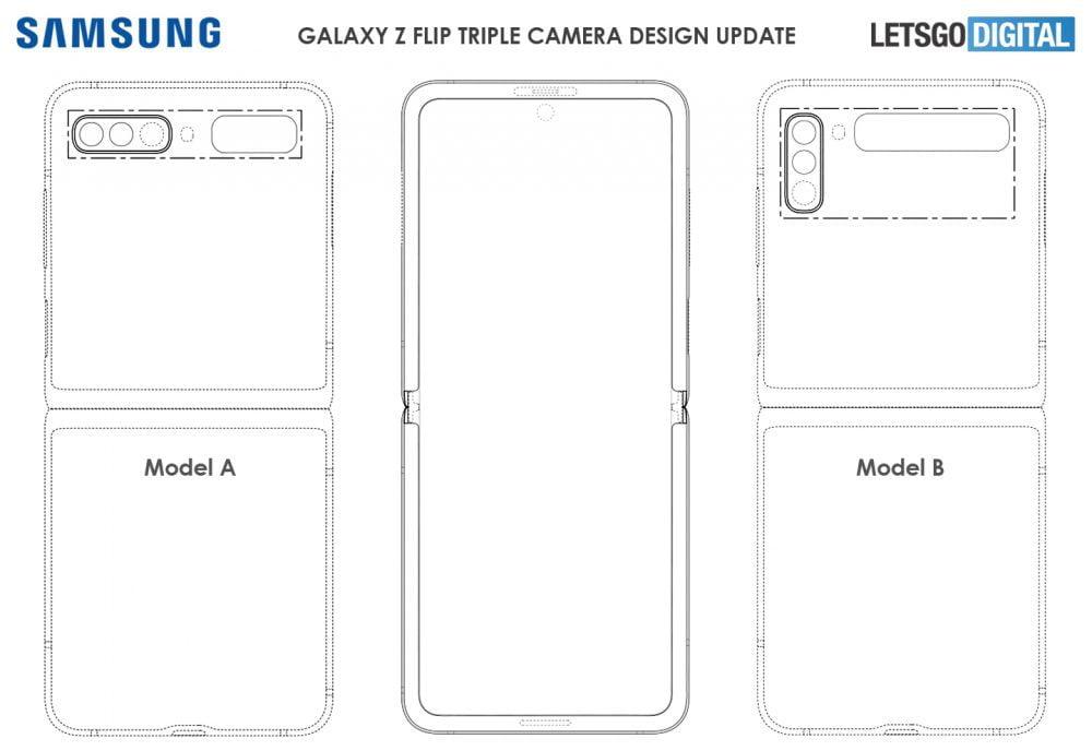 Galaxy Z Flip 3 Tasarım Çizimi