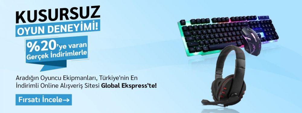 Global ekspress indirim gaming