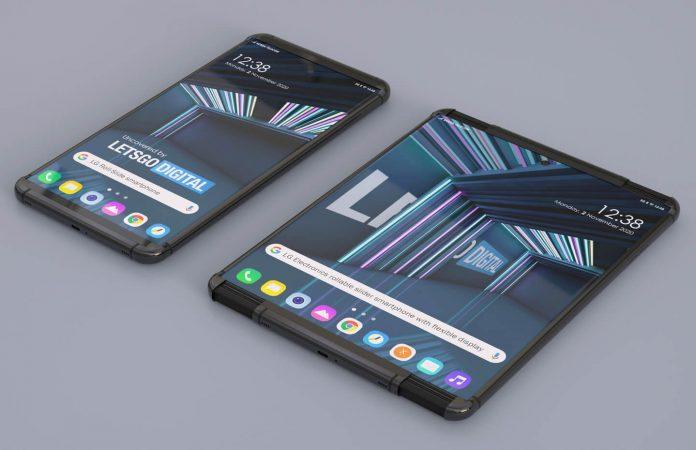LG 2021 Katlanabilir Telefon