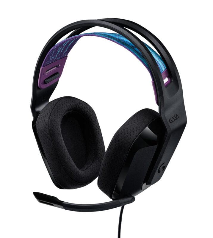 Logitech G335 Siyah renk seçeneği