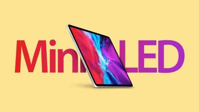 Mini LED iPad Pro