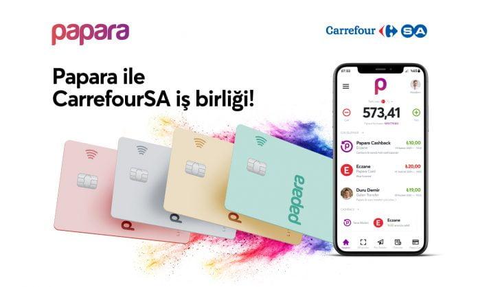 Papara - CarrefourSA iş birliği