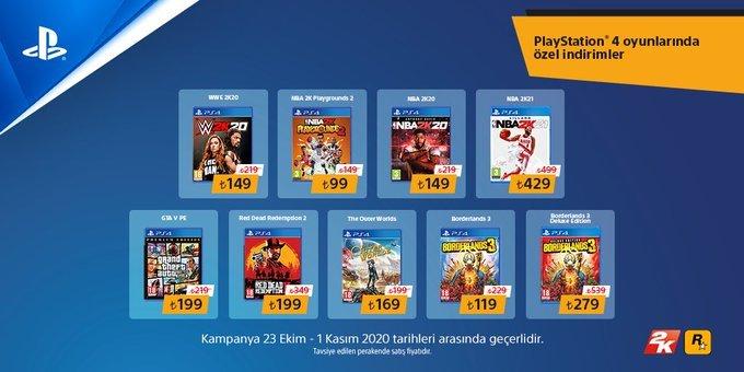 PlayStation 4 indirimleri