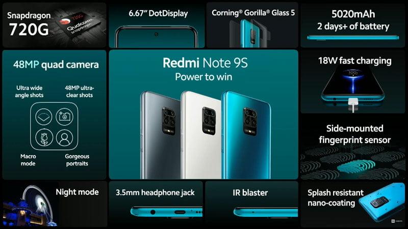 Redmi Note 9S Öne Çıkanlar