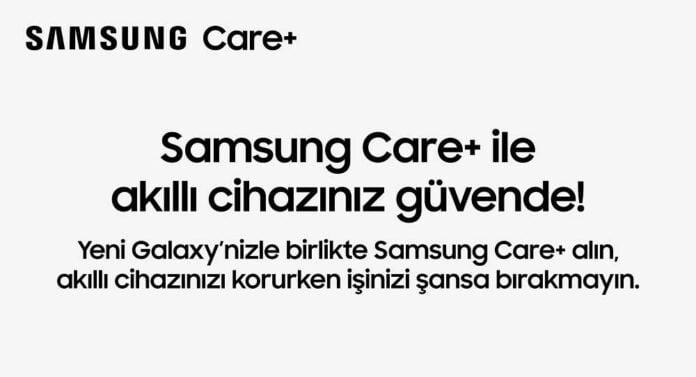 Samsung Care+ Türkiye'de