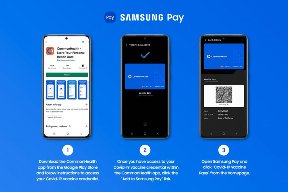 Samsung Pay covid-19