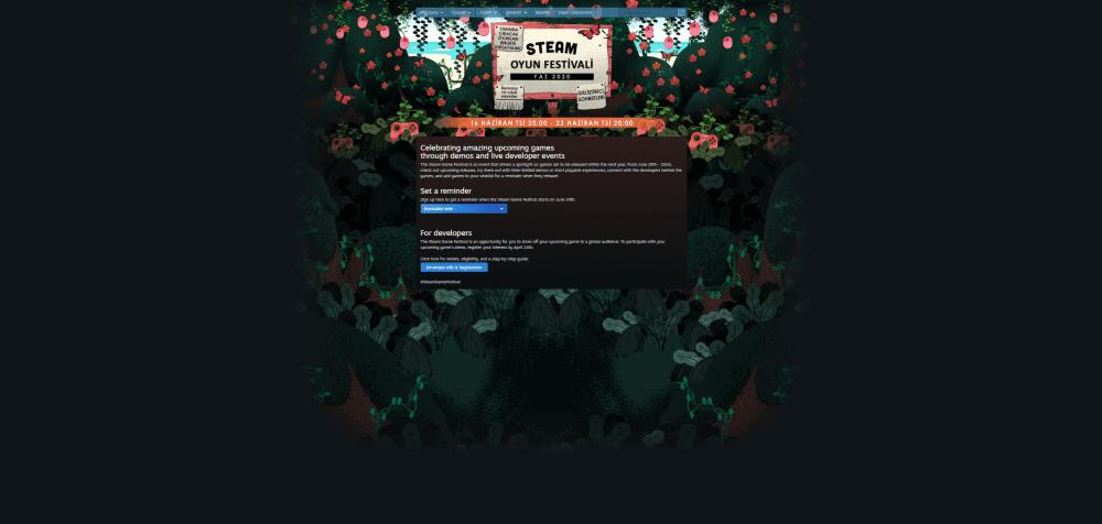 Steam Yaz Festivali başllıyor