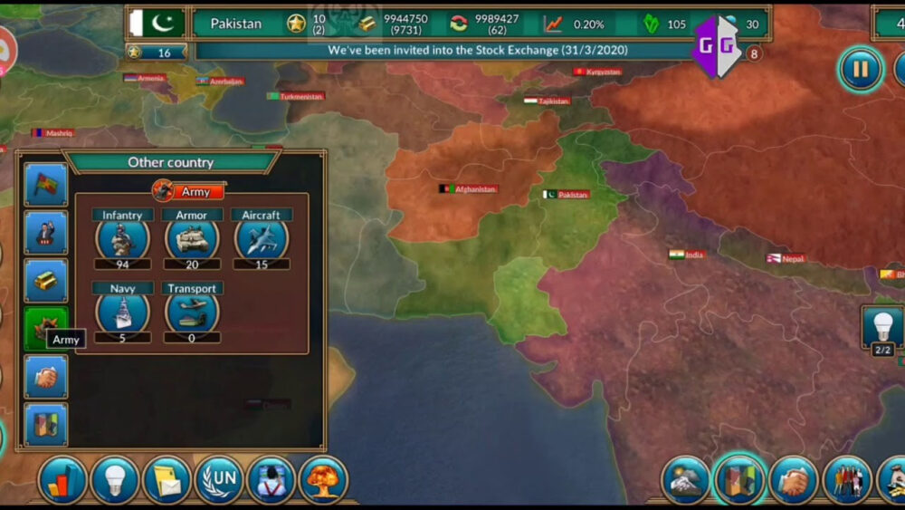 Strateji Oyunları Ülke Yönetme Türü