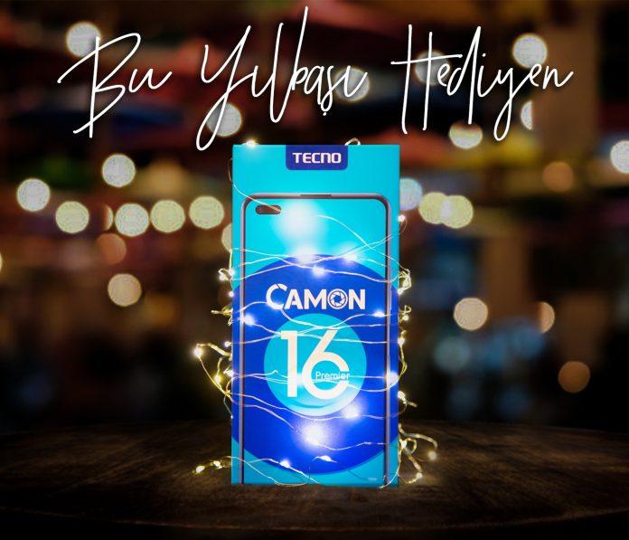 Tecno Camon 16 Premier Yeni Yil Hediyesi