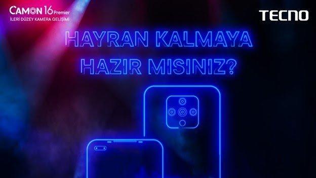 Tecno Yeni Cihazlarıyla Türkiye'de