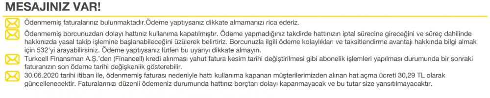 Turkcell hat açma ücreti güncellendi