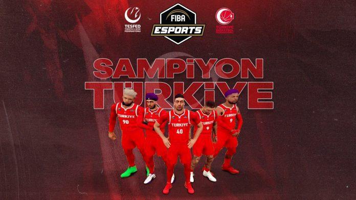 NBA 2K21 Esports Open 2 Şampiyonu Milli Takım