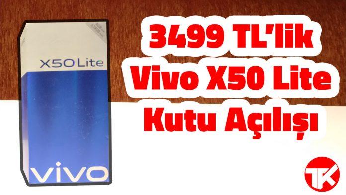Vivo X50 Lite Kutu Açılışı