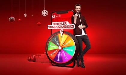 Vodafone hediye çarkı