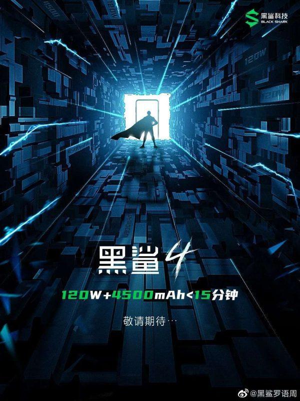 Xiaomi Black Shark 4 poster